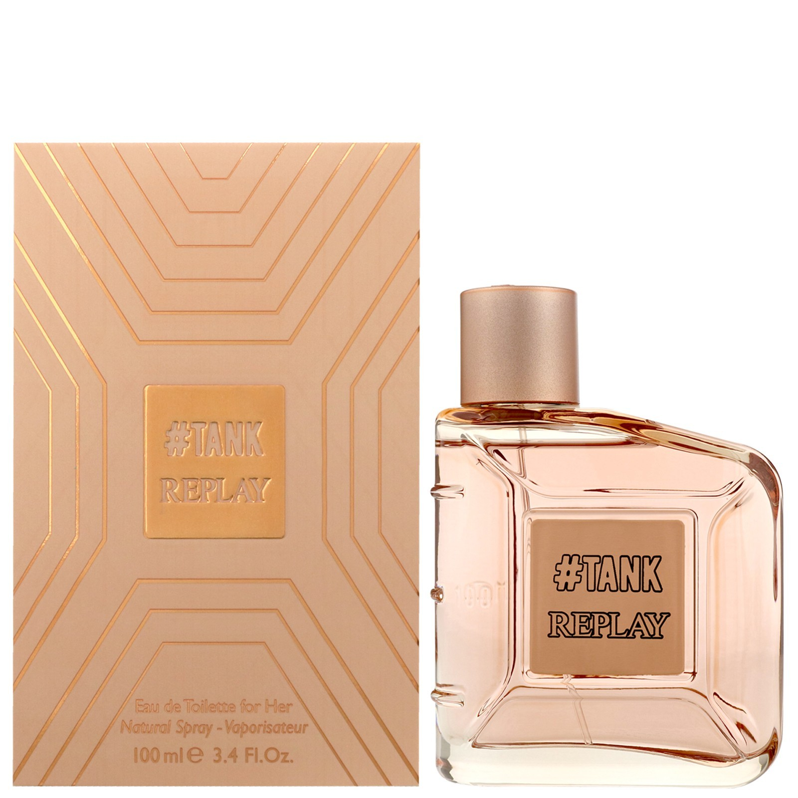 Replay Tank for Her Eau de Toilette